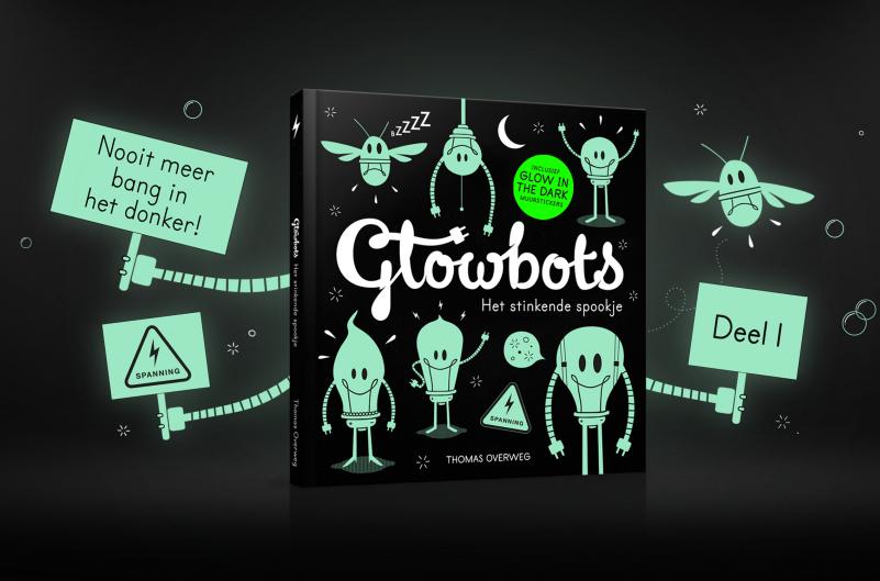 Glowbots boek drukken